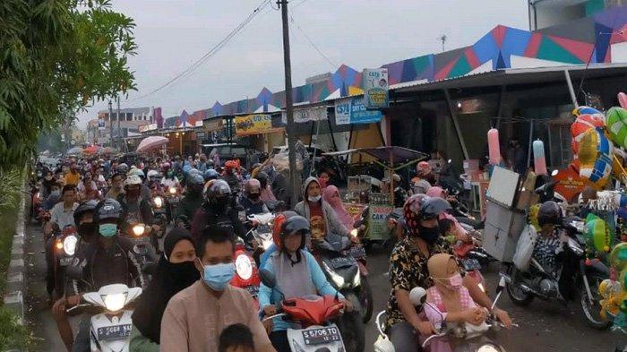 Bikin Panik saat Momen Berbuka, Pasar Kaget Surodinawan Mojokerto Terpaksa Ditutup Sampai Lebaran