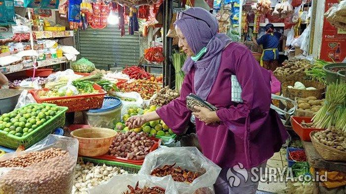 Imbas Wabah Virus Corona, Banyak Warga Surabaya Tak Berani Datang ke Pasar Tradisional