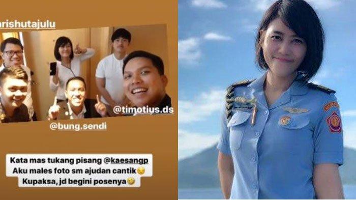 Paspampres Cantik Sandhyca Putrie Paksa Kaesang Pangarep Foto Bareng, Lihat Gaya Putra Bungsu Jokowi