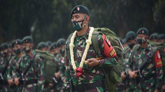 Pasukan TNI Banteng Raider Akhirnya Pulang ke Semarang, 4 Rekannya Gugur Diberondong KKB Papua