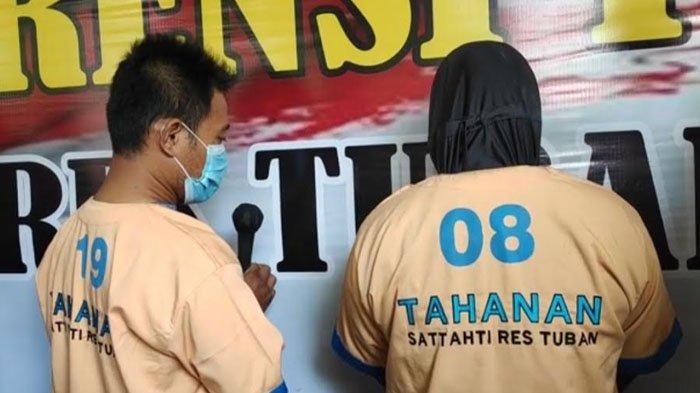 Viral Aksi Pasutri di Tuban Ajak Balita Curi Handphone Terekam CCTV, Begini Pengakuan Pelaku