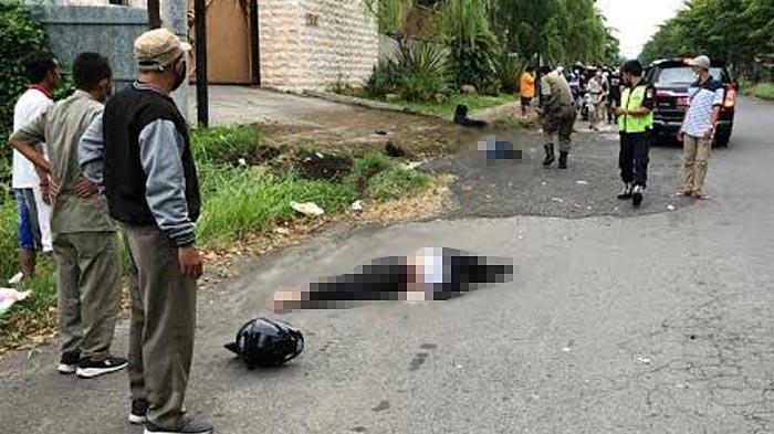 Polisi Sudah Periksa Bocah SMA Penabrak Pasutri di Jalan Dharmahusada Surabaya, Belum ada Tersangka