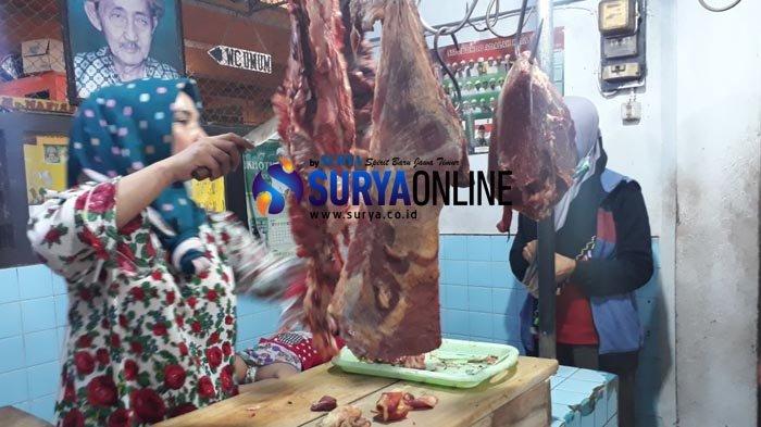 Harga Daging Sapi di Situondo Naik, Pedagang Pasar Masih Anggap Wajar
