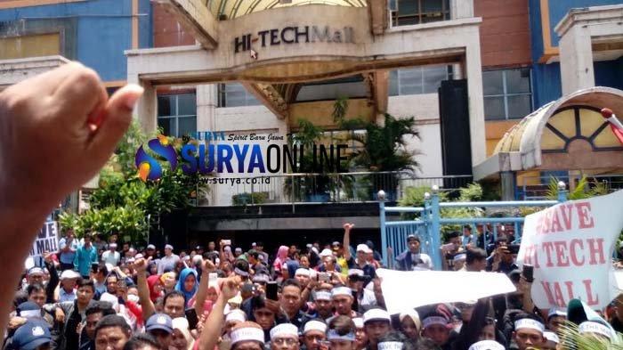 Pedagang Hi Tech Mall Resah Penutupan Pemkot Surabaya Gedung Kesenian Terintegrasi Pusat It Surya
