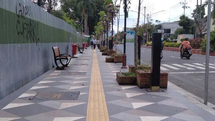 Pemkab Nganjuk Matangkan dan Sosialisasi Rencana Pembangunan Pedestrian Sisi Timur Jalan A Yani