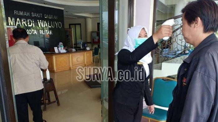 Cegah Virus Corona, Pengunjung Pasien di RSUD Mardi Waluyo Kota Blitar Dibatasi 2 Orang