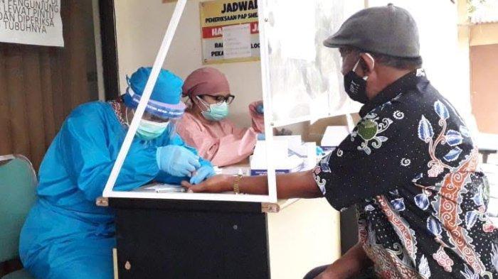 Rapid Test Antibodi Pegawai UPT Pasar Besar Batu, Ada 8 Orang yang Dinyatakan Reaktif