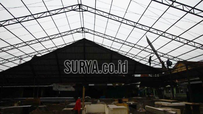 Kasus Covid 19 Meningkat, Revitalisasi Enam Pasar i Kota Malang Terus Berjalan