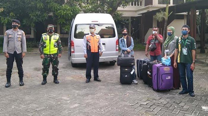 Hasil Swab Negatif, Empat Pekerja Migran Asal Bojonegoro yang Dikarantina Lega Boleh Pulang