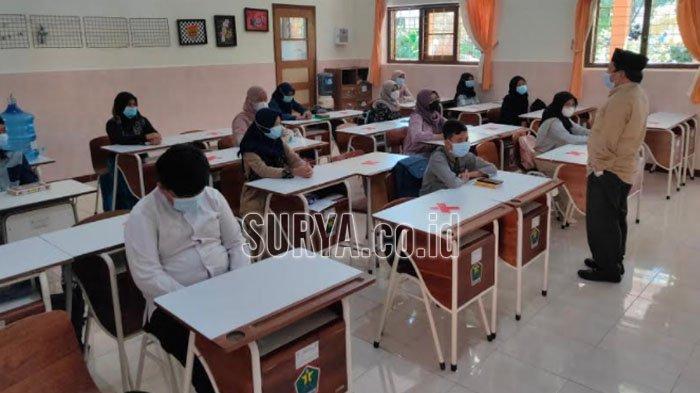 85 Persen SD dan SMP di Kota Malang Jalani Pembelajaran Tatap Muka Hari Ini