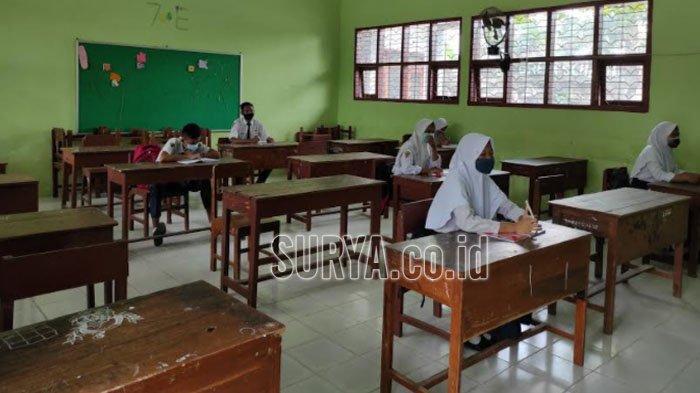 Sekolah Tatap Muka saat Zona Oranye di Kabupaten Ponorogo Batal Dilakukan Karena Hal Ini