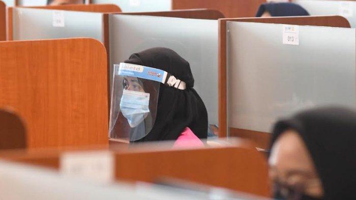 Peserta UTBK Jember Tak Perlu Bawa Hasil Rapid Test, Tetapi Suhu di Atas 37 Derajat Dilarang Masuk