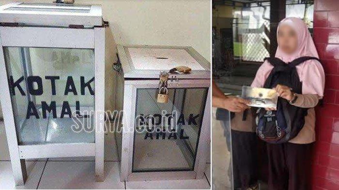 Emak-emak Congkel Kotak Amal Masjid di Kota Malang, Berdalih Pinjam dan Sudah Bilang Takmir