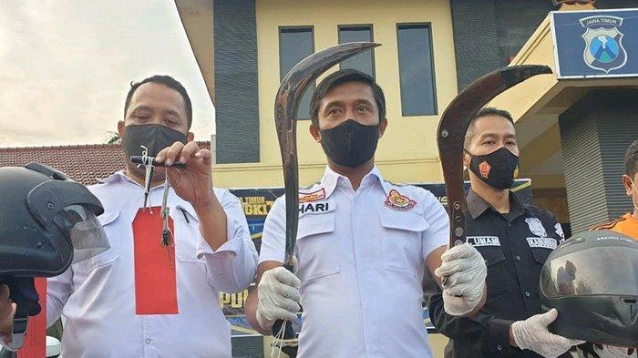 Pria Asal Pasuruan Hanya Butuh 39 Detik untuk Curi Motor; Tumbang Setelah Ditembak di Mojokerto
