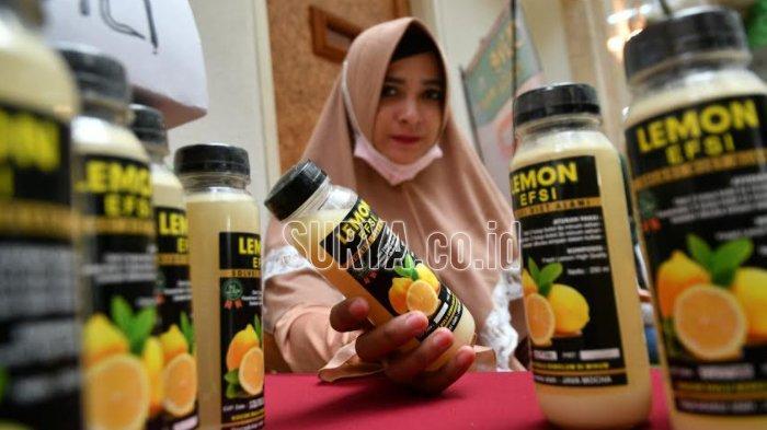 Lemon Efsi, Sari Lemon Kemasan Praktis Buatan Feny Wijayanti, Berawal dari Keinginan Diet