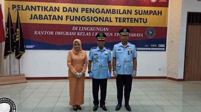 Pelantikan Pejabat Fungsional Tertentu di Lingkungan Kantor Imigrasi Kelas I Khusus TPI Surabaya