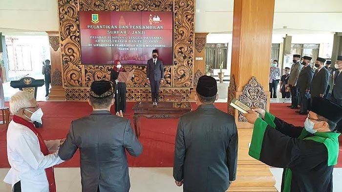 Mutasi dan Promosi 62 Pejabat Pemkot Mojokerto, Berikut Daftarnya