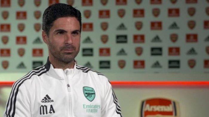 Pelatih Arsenal, Mikel Arteta