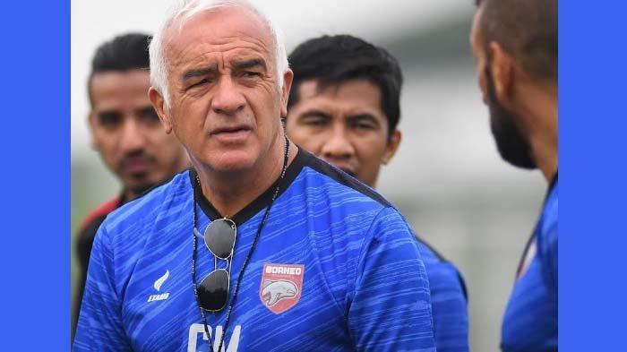 Hasil BRI Liga 1,  Ini Komentar Pelatih Borneo FC usai Ditaklukkan Persik, Padahal Tampil Dominan