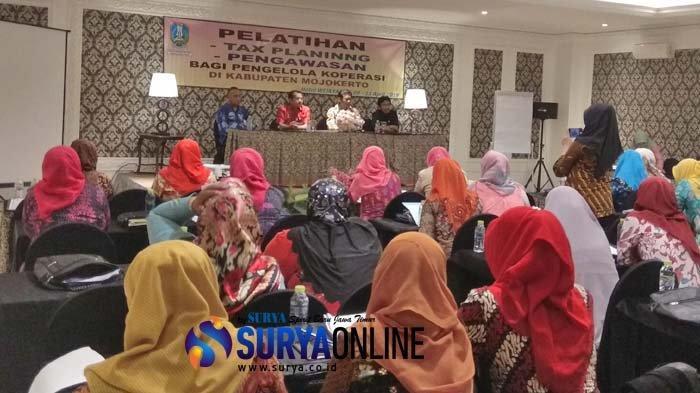 UPT Pelatihan Koperasi dan UKM Jatim Gelar Pelatihan Tax Planning dan Pengawasan di Mojokerto