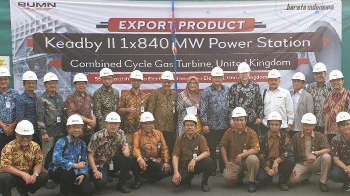 PT Barata Indonesia kembali Ekspor Komponen Pembangkit Listrik Batch 36