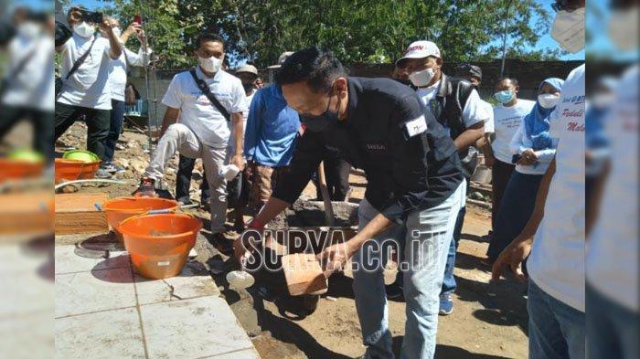 DPD Apersi Jatim Galang Donasi Rp 125 Juta Untuk Bedah Rumah Korban Terdampak Gempa Bumi