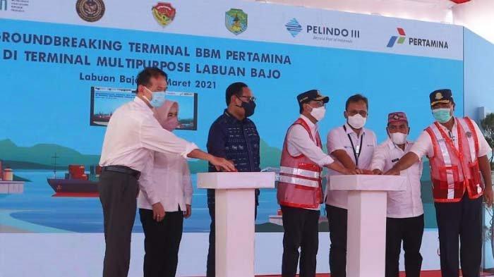 Pertamina dan Pelindo III Kerjasama Pengembangan Proyek Infrastruktur Energi di Labuhan Bajo