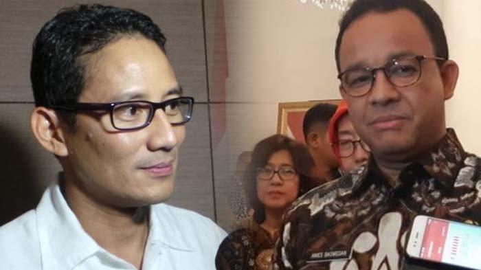 Analisis Peluang Sandiaga Uno vs Anies Baswedan di Pilpres 2024, Pengamat: Peluang Sandi Lebih Besar