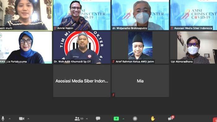 Banyak Pekerja Media Terpapar Corona Dorong AMSI Luncurkan AMSI Crisis Center COVID-19