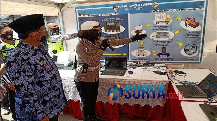 Kota Madiun Daerah Tercepat Terapkan Tilang Elektronik di Tanah Air