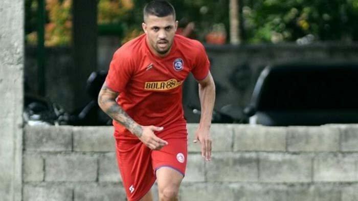 Caio Ruan Ungkap Kegagalan Tampil Apik Bersama Arema FC di Piala Menpora 2021