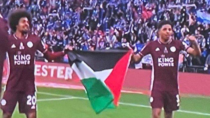Ini Sosok 2 Pemain Leicester yang Kibarkan Bendera Palestina, Saat Juara Piala FA, Terancam Sanksi