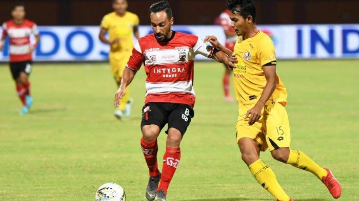 Raih Hasil Imbang di Debut Perdana, Begini Komentar Penyerang Anyar Madura United Diego Assis