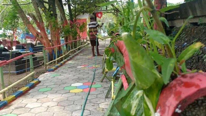 Tidak Serem Lagi, Pemakaman di Kota Madiun Jadi Kebun Sayur, Bunga sampai untuk Pelihara Burung Dara
