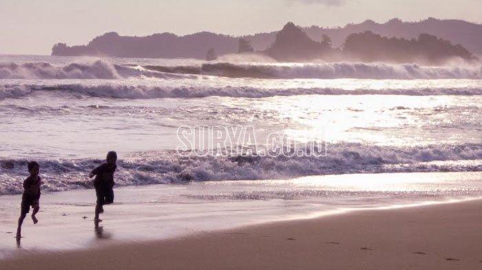 Rekomendasi Liburan saat Covid-19 Mereda, Menikmati Suasana Senja Pantai Konang Trenggalek