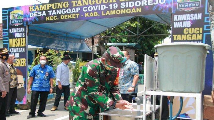 Seluruh Desa di Lamongan Jadi Kampung Tangguh, Masih Ribuan Positif Covid-19