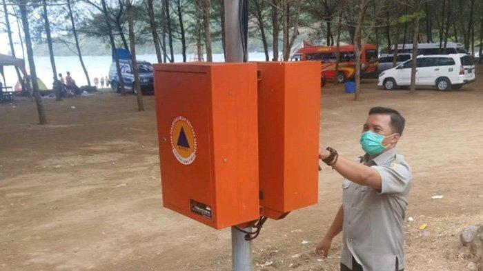 BPBD Tulungagung Pasang Alat Deteksi Dini Tsunami di Dua Pantai, Hanya Dinyalakan Setiap Tanggal 26