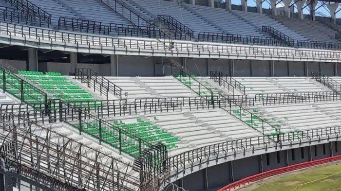Target Pemugaran Stadion Gelora Bung Tomo (GBT) Kota Surabaya Tuntas Bulan  April 2021