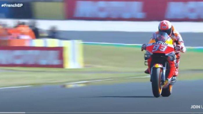 Update MotoGP Andalusia 2020: Syarat Mutlak Marc Marquez Ikut Balapan dan Tanggapan Valentino Rossi