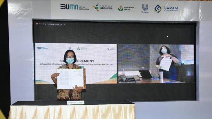 Pertama di Indonesia, Petrokimia Gresik Bangun Pabrik Soda Ash Berkapasitas 300 Ribu Ton Per Tahun