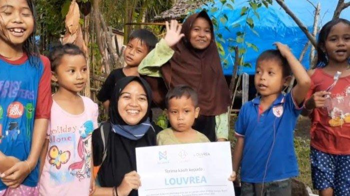 Program CSR Louvrea di Daerah Bencana, Sediakan Air Bersih lewat Pengadaan Sumur Bor