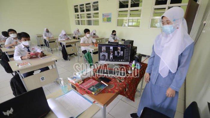 PTM di Kota Malang, Pelajar Diperbolehkan Masuk Sekolah Berpakaian Bebas Asalkan Rapi