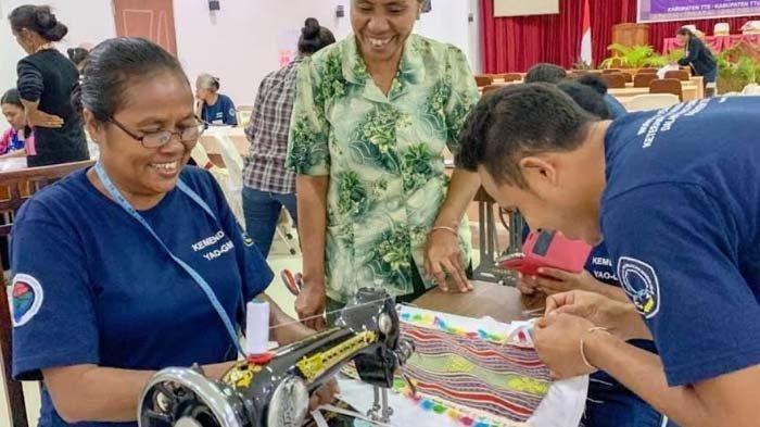 UMKM Mitra Binaan Telkom, Jahitin.com, Berdayakan Penjahit Rumahan di Masa Pandemi
