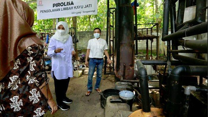 Di Tangan Putra Banyuwangi, Limbah Kayu Jati Disulap Menjadi Pupuk Organik; Pesanan Tembus ke Papua