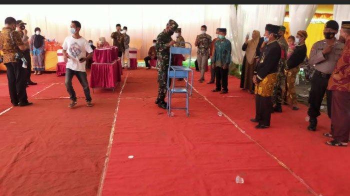 Nekat Gelar Pesta Nikah dengan Tamu lebih dari 15 Orang Dibubarkan di Kabupaten Trenggalek