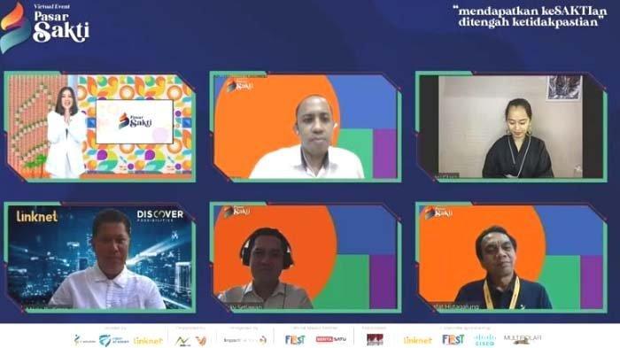I-Solution dan Link Net Resmikan Virtual Festival dan Job Fair 2021