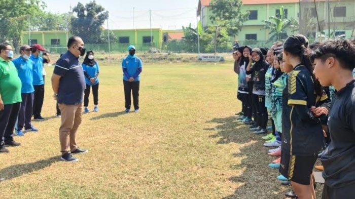 Jelang Porprov 2022, Dispora Kabupaten Gresik Buka Seleksi Tim Sepakbola Putri
