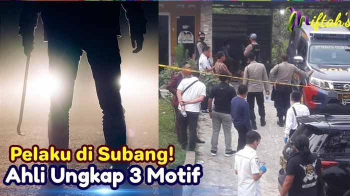 Update Pembunuh Ibu dan Anak di Subang Pakai Toyota Avanza Putih dan Yamaha NMAX, Ini Ciri-cirinya