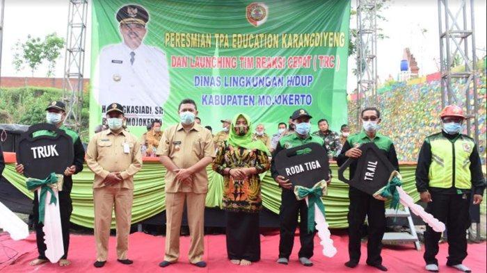 Peresmian TPA Edukasi Karangdiyeng dan Launching TRC Dinas Lingkungan Hidup Kabupaten Mojokerto