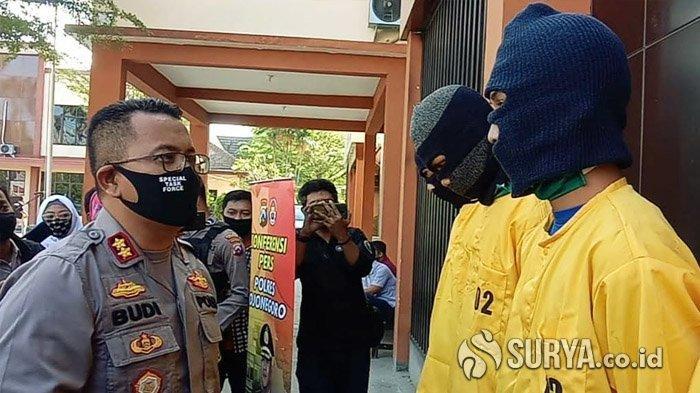 Komplotan Playboy Online Ditangkap usai Rudapaksa Siswi SMP Bojonegoro di Semak-semak
